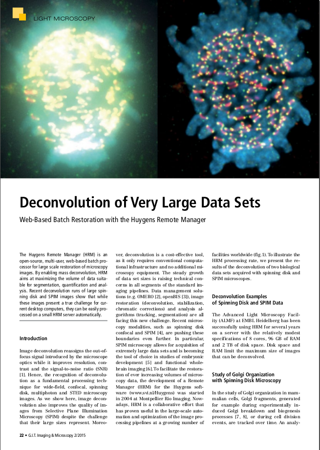DeconvolutionVeryLargeDatasets