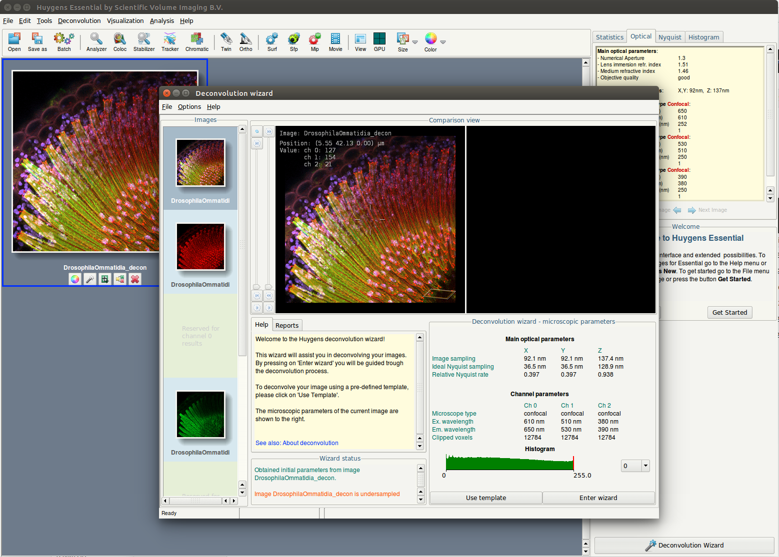 free image analysis software for microscopy