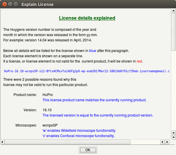 License Details Explained